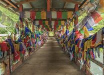 Vallei, Thimphu - Bhutan - foto: Archief