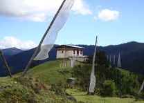 Lokaal huis bij Druk Path - Druk Path - Bhutan - foto: Lokale agent