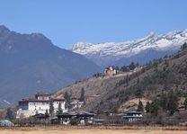 uitzicht Paro - Paro - Bhutan