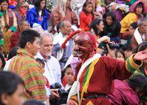 festival Tsechu (1) - Bhutan - foto: lokale agent