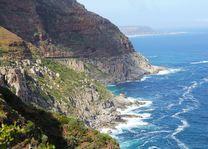 bocht Chapman's Peak - Zuid-Afrika