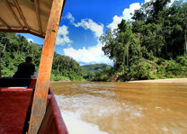 Boot - rivier - Taman Negara - Maleisië - foto: flickr