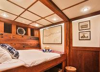 cabine zeilboot - Seatrek - Bali - Indonesie - foto: Seatrek Bali