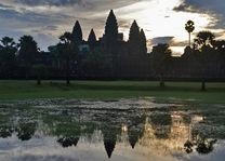 Cambodja - Angkor - Angkor Wat - zonsopgang - foto: Daniel de Gruiter