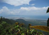 Cambodja - Kep - uitzicht vanaf Bokor Hill - foto: Daniel de Gruiter
