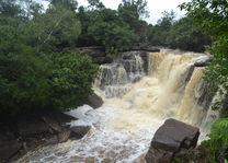 Cambodja  Kep - waterval bij bokor hill - foto: Daniel de Gruiter