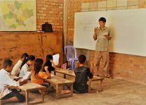 Cambodja - leraar Siem Reap