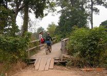 Cambodja - Stung Treng - mekong mountainbiking