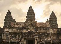 Angkor met lichte lucht - Siem Reap - Cambodja