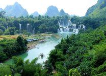 Detian watervallen - Daxin - China - foto: Janneke Zwiers