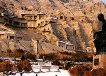 boedistische grotten in Kucha (oude naam Qiuci) - China Kucha zijderoute - China - foto: agent
