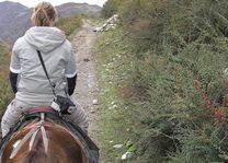 paardrijden in Songpan - Songpan - Huanglong - China