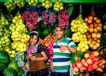 fruitverkopers op de markt van Ende - Flores - Indonesie - foto: Seatrek Bali