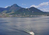 ferry naar Sakurajima - Kagoshima - Japan - foto: flickr
