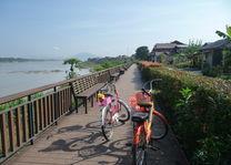 fietstocht - Chiang Khan - Thailand - foto: Floor Ebbers