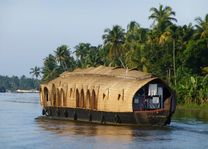 Houseboat in de Backwaters - Backwaters - India - foto: Karin Nuijt
