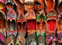 Pantoffels India style - India - foto: Archief