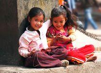 Indische kindjes - India - foto: Archief