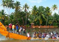 Snake Boat Race Backwaters/Kerala 2 - India