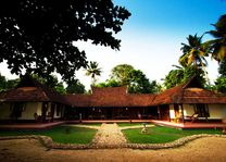 Emerald Isle Homestay in de Backwaters aanzicht - India - foto: Emerald Isle