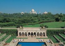 Uitzicht vanuit The Oberoi Amarvilas in Agra - The Oberoi Amarvilas - India - foto: The Oberoi Amarvilas