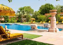 Zwembad van The Oberoi Rajvilas in Jaipur - The Oberoi Rajvilas - India - foto: The Oberoi Rajvilas