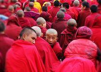 Monniken in Ladakh - Ladakh - India