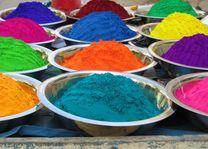 Kleurenpoeder van het Holi festival - India - foto: archief
