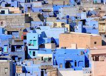 blauwe stad Jodhpur - Jodhpur - India