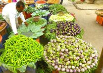 markt in Nashik - Nashik - India - foto: Richard Randall