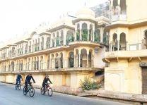 fietsen - Jaipur - India - foto: Bhawani Singh Chandela