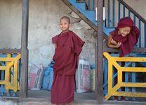 novices Enchey Monastery - Sikkim - India - foto: Mieke Arendsen
