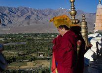 monnik in Ladakh - Ladakh - India - foto: Ashfaq Rah