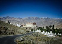 uitzicht op Stok Palace in Leh - Stok Palace - India - foto: Ashfaq Rah