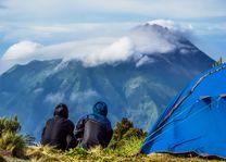 Indonesie - Java - kamperen in Oost-Java
