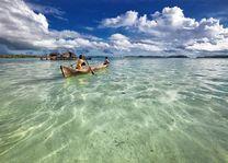 Indonesie - Papua Nieuw Guinnea - kano