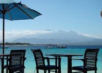 uitzicht - Hotel Vila Ombak - Gili Trawangan - Indonesië