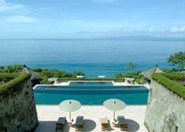 Amankila Manggis uitzicht op zee - Amankila - Indonesië