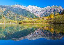 Hotaka Ranges, Taisho Lake, Kamikochi - Kamikochi - Japan - foto: Archief