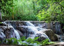 Laos - Luang Prabang - Kuangsi waterval