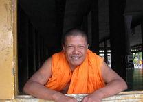 stoere monnik - Laos