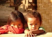 meisjes Kamu Village - Kamu Village - Laos