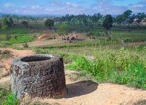 Vlakte der Kruiken, Plain of Jars Xieng Khuang - Laos Xieng Khuang - Laos - foto: Archief