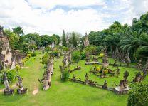 Wat Xieng Khuan Buddha park. Vientiane, Laos - Laos vientiane - Laos - foto: Archief