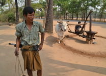 lokale boer op het platteland - Myanmar - foto: Daniel de Gruiter