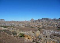 uitzicht over het park - Isalo NP - Madagaskar
