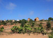 Huisjes Betsileo Walk - Fianarantsoa - Fianarantsoa - Madagaskar - foto: Martijn Visscher