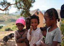 Kinderen Betsileo Walk - Fianarantsoa - Fianarantsoa - Madagaskar - foto: Martijn Visscher