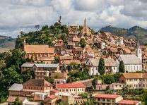 Fianarantsoa overview - Fianarantsoa - Madagaskar - foto: archief