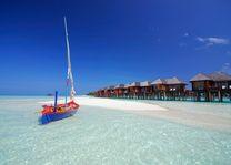 waterbungalows van Olhuveli Beach Resort & Spa - Olhuveli Beach Resort & Spa - Malediven